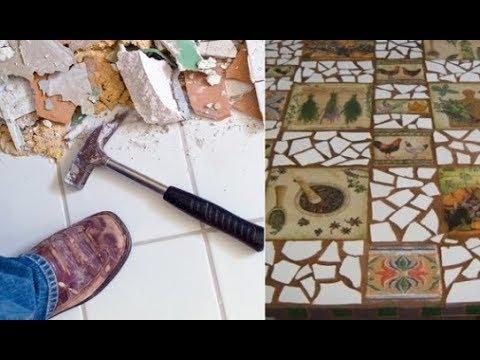 Коллекция идей: что можно сделать с остатками кафельной плитки