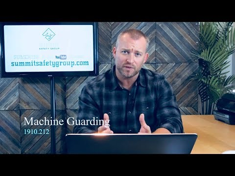 Safety: OSHA's #8 on the 2017 Violation List: Machine Guarding