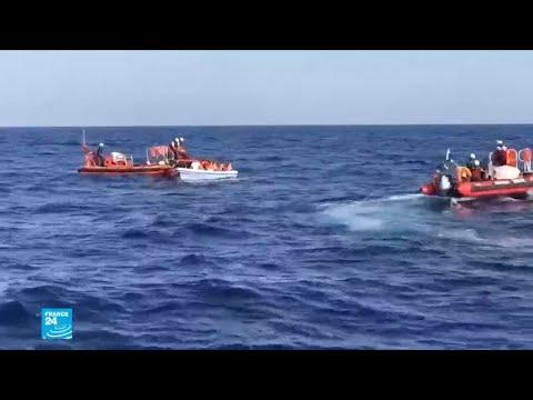أزمة سفينة -أكواريوس- تتجه نحو الانفراج  - نشر قبل 36 دقيقة