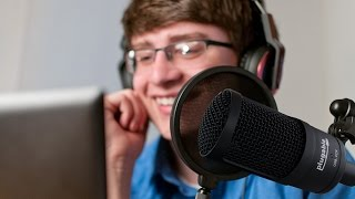 Studio Quality Audio Recording with Our Cardioid Condenser USB Microphone