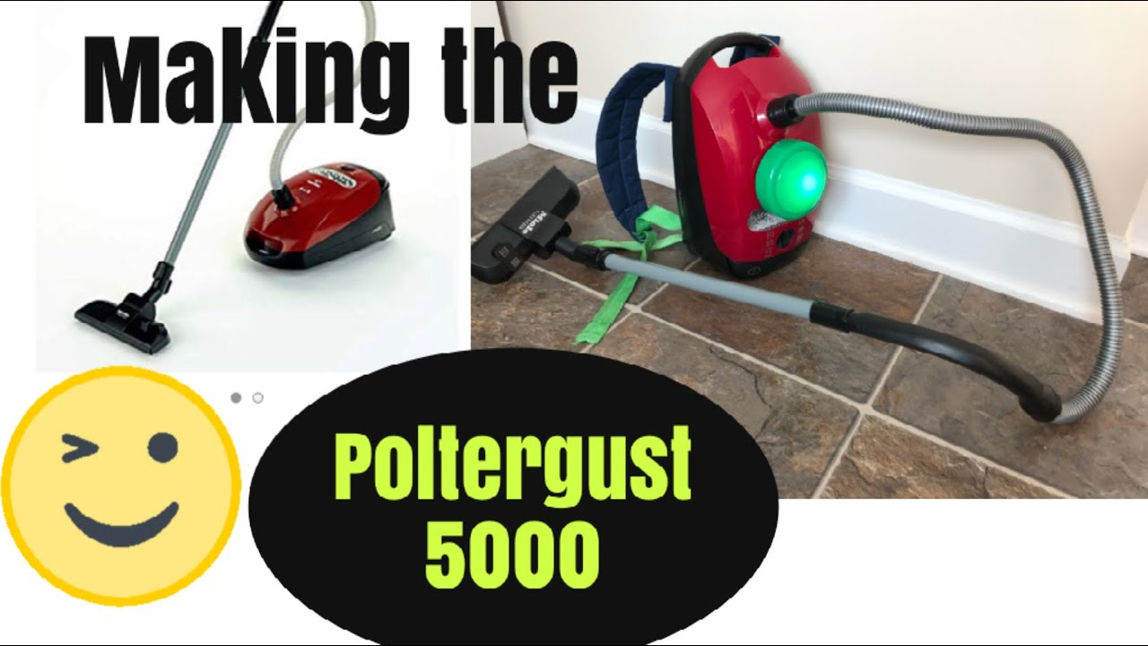 Easy Way To Make The Poltergust 5000 From Luigis Mansion Youtube