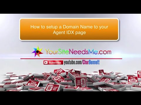 IDXBroker Agent Tutorial Help: Setting up your Domain Name