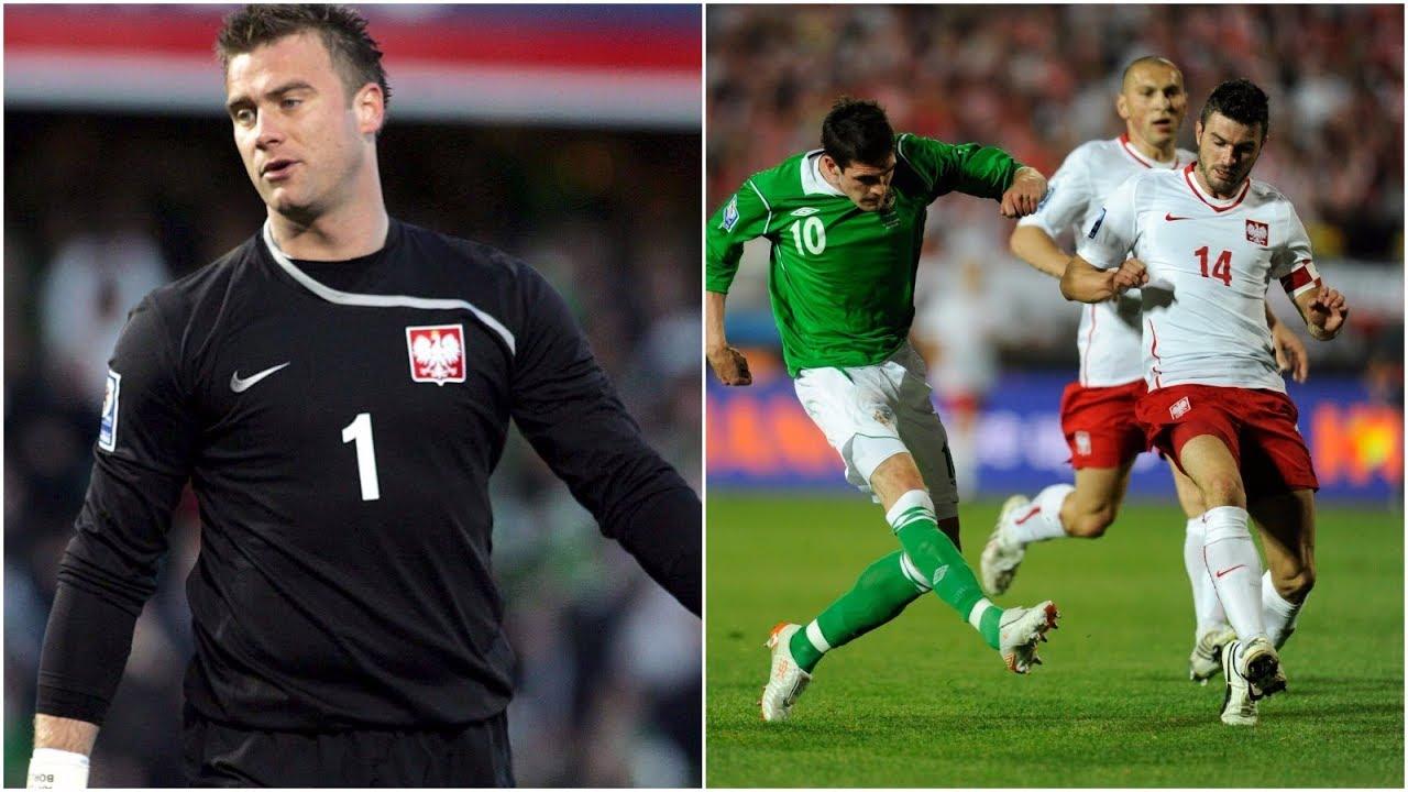 "Retro TVP.  Irlandia Północna – Polska 3:2 (2009). Kiks Boruca, ""samobój"" Żewłakow"