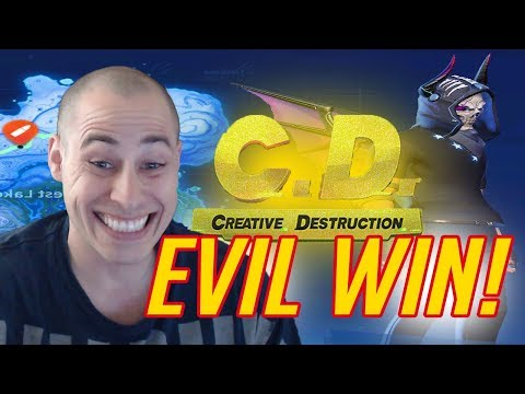 HAHAH THE BIGGEST TROLL AND THE BIGGEST PRO! (Creative Destruction)