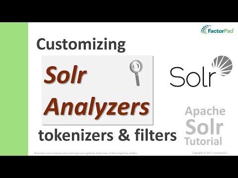 Solr Analyzer - Text Analysis with Lucene Analyzers, Tokenizers and Filters