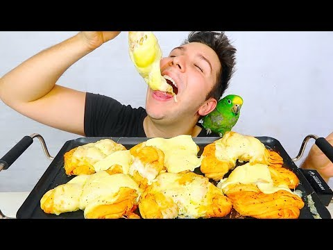CHEESE STUFFED MOZZARELLA BALLS • Mukbang & Recipe