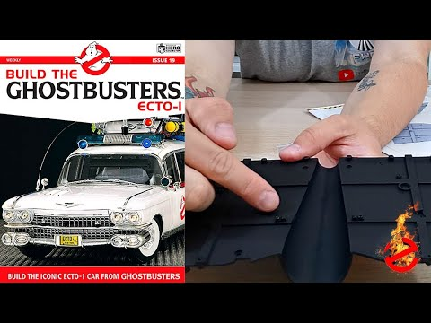Build The Ghostbusters Ecto-1 - Issue 19 ( Front Middle Chassis & Oil Pipe Covers )