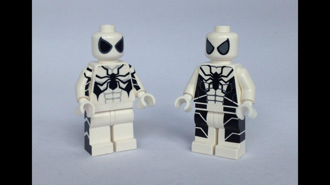 Spider Man Future Foundation Custom Minifigure Comparison ...