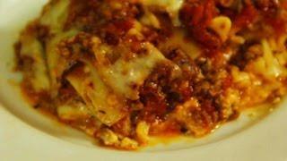 How To Make Classic Italian Lasagna Recipe