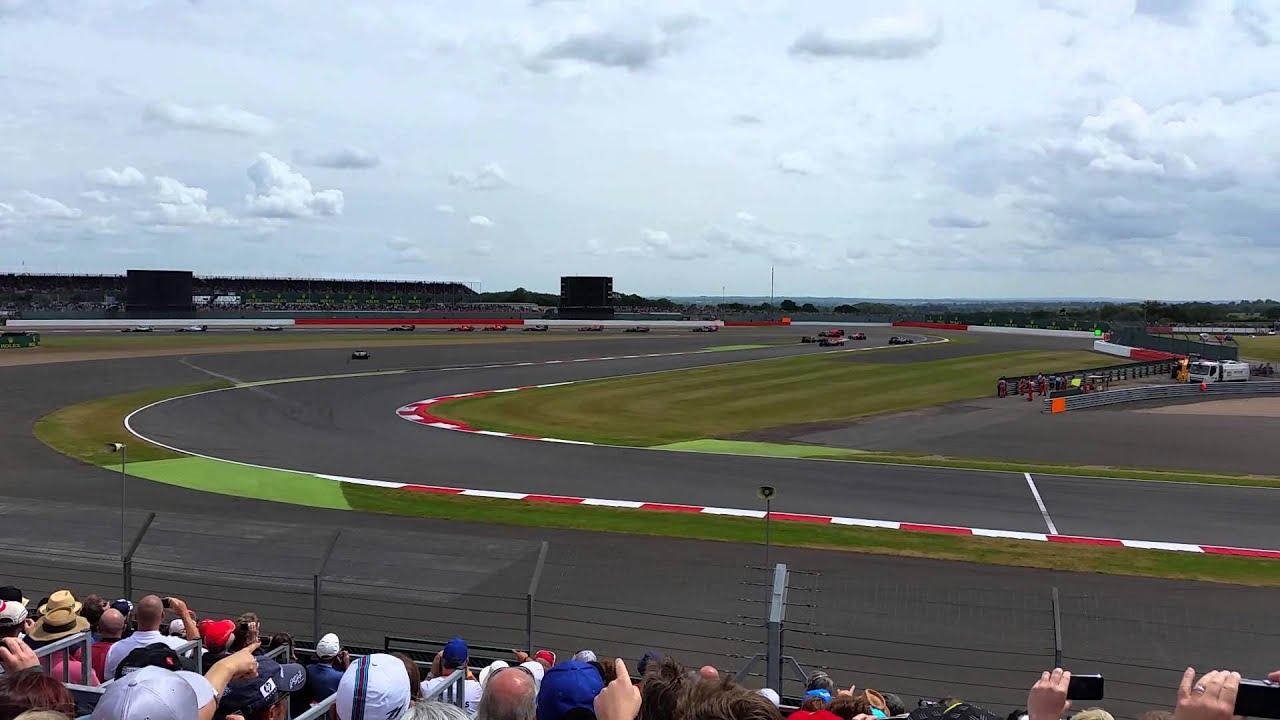 F1 Gp Silverstone 2015 Race Start Village A