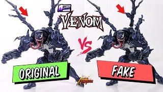 ORIGINAL VS FAKE | Revoltech Amazing Yamaguchi no. 003 Venom | POGIMAN
