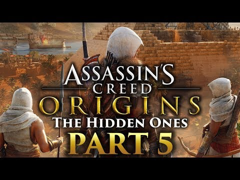 "Assassin's Creed Origins - The Hidden Ones DLC - Let's Play - Part 5 - ""The Setting Sun. Chains"""