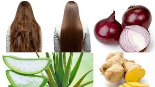 Magical Hair Mask For All Hair Relate Problems Ginger Onion Banana And Egg Mask Urdu Hindi