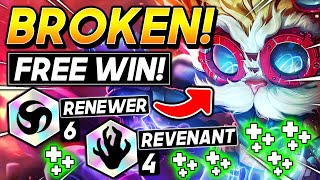 *6 RENEWER is BROKEN!* - TFT SET 5 BEST Ranked Comp I Teamfight Tactics Strategy Guide 11.12 Patch