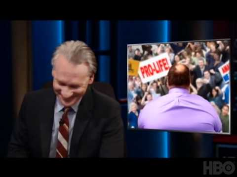 Bill Maher presenting the Republican presidential candidate 2012