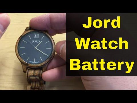 Jord Wooden Watch Battery Replacement-DIY Tutorial