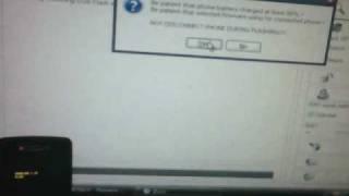 705SC shut off in bootload