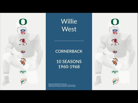 Willie West: Football Cornerback