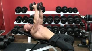 Разводка гантелей лежа: техника выполнения, на горизонтальной и наклонной скамье, видео
