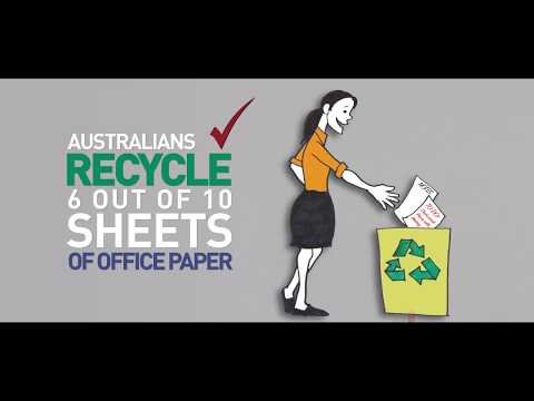 Planet Ark Make it Australian Recycled
