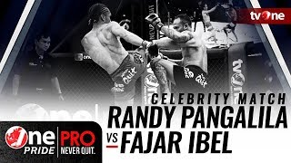 [Celebrity Match] Randy Pangalila vs Fajar Ibel - One Pride Pro Never Quit #16 HD thumbnail