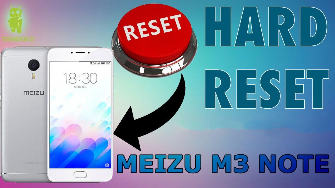 Meizu Hard Reset