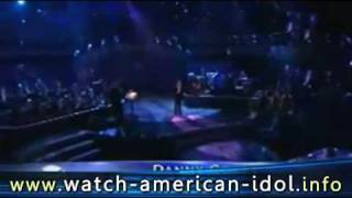 Danny Gokey - Come Rain Come Shine HQ TOP 5 live Rat Pack Week Theme // 04/28/2009