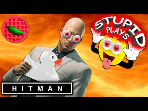 AGENT 69S BIG POWERFUL DUCK! -- Lets Play HITMAN (Stupid Play #2)(Steam PC Game)