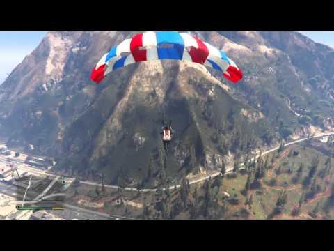 Grand Theft Auto V Paracadutismo Estremo