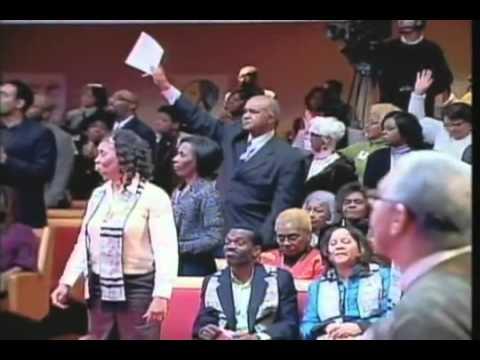 "Trinity United Church of Christ Sanctuary Choir- ""I Shall Wear a Crown"""