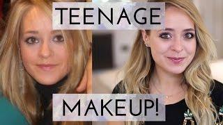 How I Did My Makeup in HIGH SCHOOL!   Fleur De Force