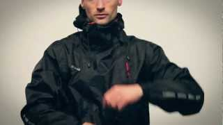 The Bikesuit. One Piece Bicycle Rainsuit - One piece, total protection.