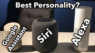Siri vs Google Assistant vs Alexa