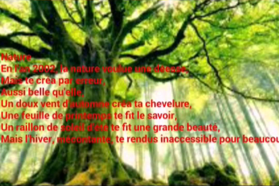 Poème Damour Catégorie Nature 1 Youtube