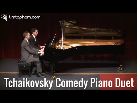 Take on Tchaikovsky - comedy duet at Camberwell Grammar