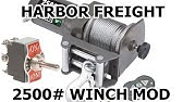 Harbor Freight 2500lb ATV winch remote replacement CHEAP