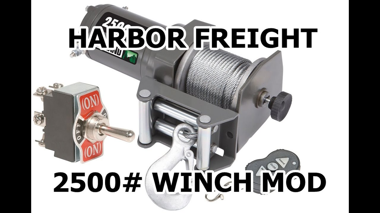 how to    badlands 2500  wireless winch mounted switch mod