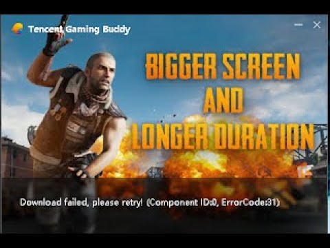 How To Fix The Tencent Gaming Buddy Error Code 31 In PUBG Emulator Easily 100% Working 2019