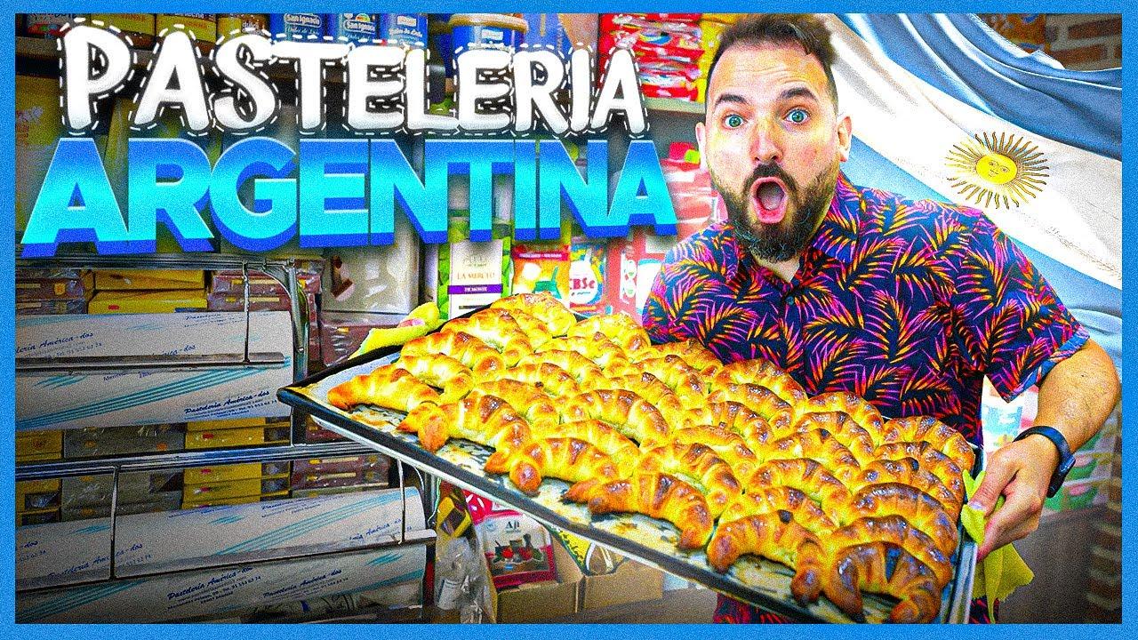 LA MEJOR PASTELERIA ARGENTINA EN ESPAÑA - 4K
