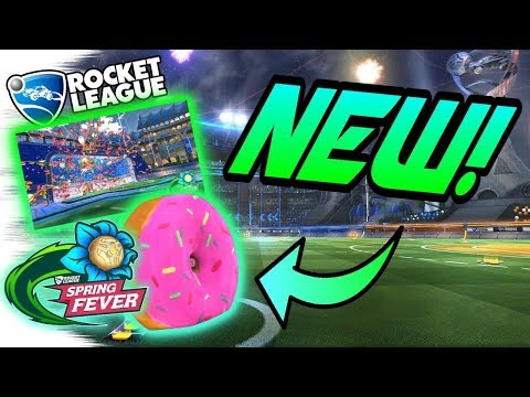 Rocket League UPDATE: NEW DONUT WHEELS + SPRING FEVER EVENT! - All Info/Secrets (Gameplay & Crate)