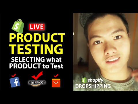 Shopify Dropshipping: Choose Product To Test LIVE ($100,000+Product Research Strategy) thumbnail