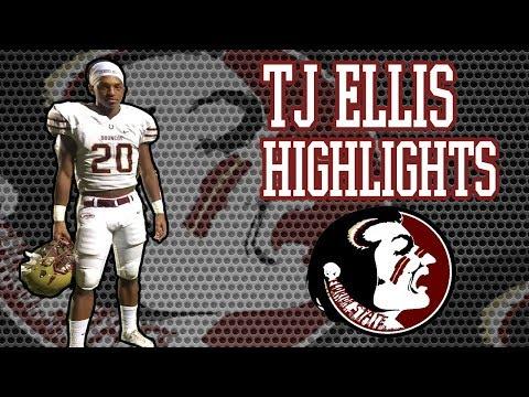 KID HAS POTENTIAL!! TJ Ellis High School Football Highlights - Brookwood