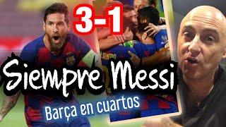 3-1 ¿CONVINCENTE EL BARCELONA? YA EN CUARTOS #MundoMaldini