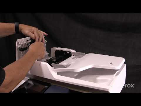 Xerox® VersaLink® B405 Multifunction Laser Printer Cleaning the Nudger and Feed Rolls
