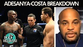 Israel Adesanya made Paulo Costa look like an amateur – Daniel Cormier | DC & Helwani | ESPN MMA
