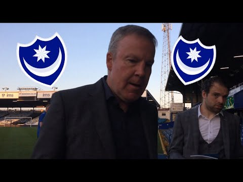 Post- Portsmouth FC v Peterborough United Interview With Kenny Jackett!! (Portsmouth FC Manager)