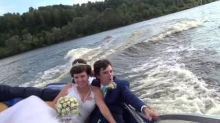 Свадьба прогулка на катере. с.Фокино