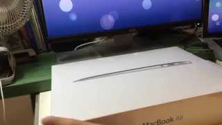 apple macbook air 13 early 2014 1 4ghz i5 with 256gb flash unboxing