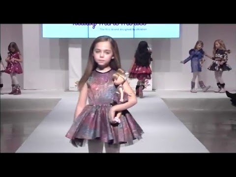 KIDDY MINI MODEL introducing Fall-Winter 2016 collection at FIMI Madrid