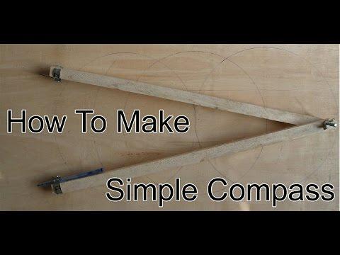 How to make big compass